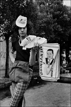 El regreso de Perón por Sara Facio Eugene Richards, Helen Levitt, Robert Frank, Vivian Maier, Saul Leiter, Cowboy Hats, Bucket Hat, Lyon, Fotografia