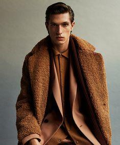 Adrien Sahores & Edoardo Sebastianelli Model Zara Winter 2019.20 Looks
