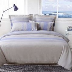 Boathouse Quilt Cover Set by Odyssey Living