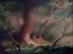 Bambi Backgrounds Pre-production Sketches for Backgrounds Etc. Bambi Film, Bambi 1942, Watercolor Disney, Watercolor Ideas, Pre Production, Disney Films, Disney Animation, Northern Lights, Sketches