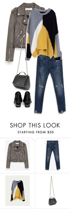 """""""Untitled #1192"""" by kaylaf124 ❤ liked on Polyvore featuring Jakke, Givenchy and Alexander Wang"""