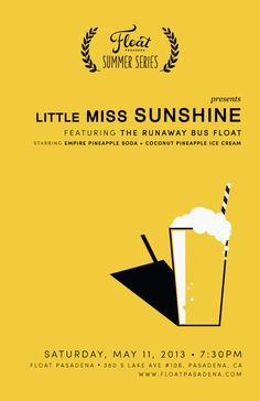 Little Miss Sunshine (2006) ~ Minimal Movie Poster by Yena Lee #amusementphile