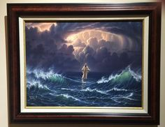 Never Forsaken by Abraham Hunter - Framed