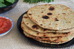 Te explicamos paso a paso, de manera sencilla, la elaboración de la receta de chapati con harina de garbanzos. Ingredientes, tiempo de elaboración Chapati, Kitchen Recipes, Cooking Recipes, Healthy Recipes, Sin Gluten, Food Inspiration, Vegan Vegetarian, Great Recipes, Easy Meals