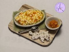 Tutorial: Risotto with Pumpkin in Fimo (polymer clay pumpkin rice) - YouTube