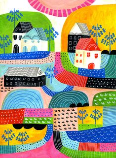 Lisa Congdon Large Landscape Study Print