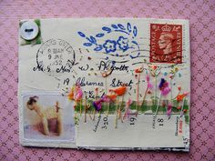 1952 envelope by hens teeth, via Flickr