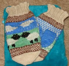 Ravelry: Project Gallery for Sheepish Mittenz pattern by Kimberly Lewis