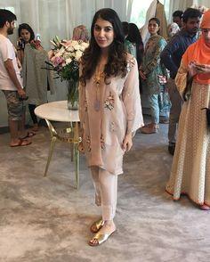 Ayla Khan of Team Elan poses for us at Elan's Eid exhibit happening now! @elanofficial #TEdit #Reports #AylaKhan #Elan #HappeningNow #EidExhibition #Events #Pakistan #Lahore #Karachi #Islamabad