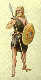 Ancient Welsh Warrior