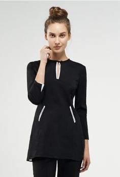Coco - white trim - SPA + BEAUTY Uniform