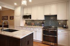 Townhouse Kitchen Remodel | Bianco Romano Granite traditional-kitchen