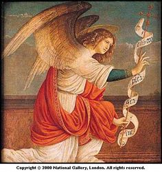The Annunciation. The Angel Gabriel Gaudenzio Ferrari Wall Art from TrulyArt. All Artwork can be Framed or Unframed. Your Poster Art can be Optionally Framed and Includes Free Worldwide Shipping. Angels Among Us, Angels And Demons, Saint Dominique, Saint Gabriel, Spiritual Warrior, I Believe In Angels, Ange Demon, Saint Esprit, Angel Art