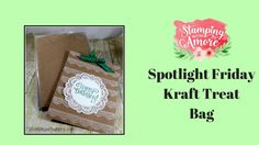 Spotlight Friday Kraft Treat Bag