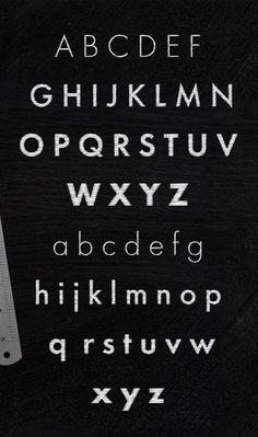 Schist Font Letters #freefonts #fontsfordesigners #topfreefonts #bestfonts2014 #vintagefonts