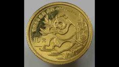 ebay sale - China 10 Yuan 1991 Panda 1/10 Oz 999 Gold Au Ebay Sale, Gold Coins, China, Personalized Items, Porcelain