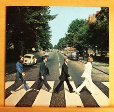 THE BEATLES Abbey Road Vinyl LP Come together Here comes the Sun Something RARE