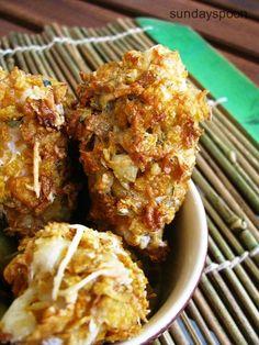 Τραγανές κοτομπουκιές φούρνου και πατάτες σαν τηγανητές • sundayspoon