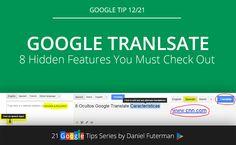 Google Translate – 8 Hidden Features You Must Check Out.  #googletranslate #googletips #Googletranslatetips