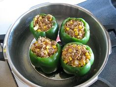 Pressure Perfect Cooking: Stuffed Bell Peppers - Pressure Cooker