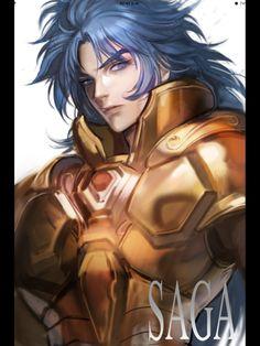 Gemini Gold Saint: Saga (Saint Seiya)