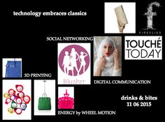 "Blushrr invites you to ""Technology embraces Classics"" ::  June 11, 2015"
