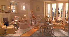 What a lovely nursery, from Father of the Bride, part II.
