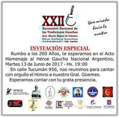 Mar 13/Jun  #Salta #PasaLaData #Evento #Prensa #QueHacemosSalta #Güemes Toda la info que necesitas la podes encontrar aquí  http://quehacemossalta.com/