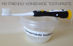 Homemade Toothpaste for Kids