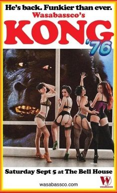 King Kong, Superman Wonder Woman, Batman And Superman, Horror Movie Posters, Horror Movies, Film Posters, Old Sci Fi Movies, Giant Monster Movies, Jungle Love