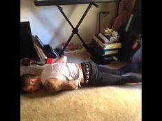 If a T Rex fell over by Andy Biersack. Currently dying. lololololol