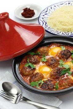 Recette du tajine de boulettes (keftas) aux oeufs et épices !: