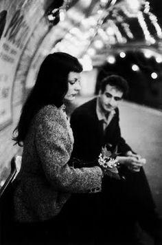 "Le Muguet du Métro ""por Robert Doisneau 1953"