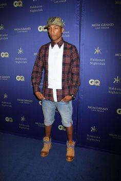 Pharrell Williams Photos - Celebs Enjoy a Night Out in Las Vegas - Zimbio