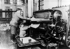 Child labour in a printing company - Child labor should be encouraged here in the US…