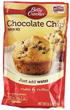 Betty Crocker Muffin Mix Chocolate Chip 6.5 Oz 12 Packs >>> Startling big discounts available here : baking desserts recipes