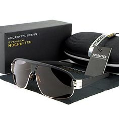 25bc831b51 HDCRAFTER Polarized Outdoor Driving Casual UV400 Sunglasses Men Glasses  Designer     Click image to review more details.Note It is affiliate link  to Amazon.