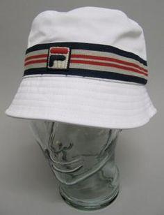 ca874378402 Fila Vintage Casper Bucket Hat in Navy Blue.