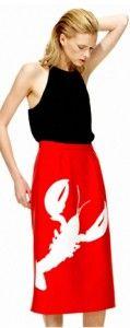 Tibi Resort 2013 Scorpio Skirt