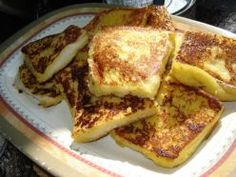 Bananas Foster French Toast ~ A Paula Deen recipe from the Food Network