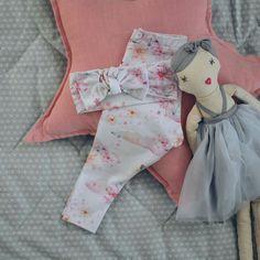 Whimsical leggings by Lulu and milly. Doll by sweetlittledreams.com.au  Aw17 girls leggings baby leggings