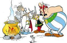 Baciatevi sotto il vischio! http://www.thegreenrevolution.it/baciatevi-sotto-il-vischio/ #Asterix #mistletoe