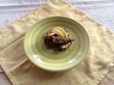 Sardine gratinate