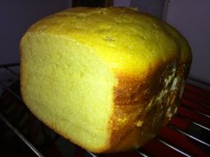 Citric cake made with my breadmachine.