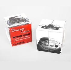 Dream Cars Art Cube