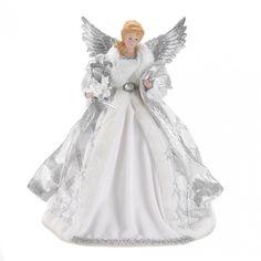 White Angel Doll & Tree Topper