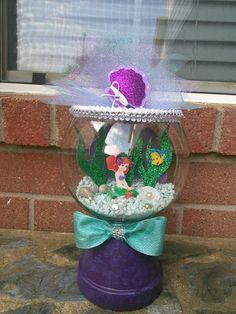 Little Mermaid Centerpieces Little Mermaid Baby, Little Mermaid Birthday, Little Mermaid Parties, Little Mermaid Centerpieces, Little Mermaid Decorations, Moana Centerpieces, Mermaid Pinata, Little Mermaid Invitations, Mermaid Crafts