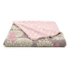 Check out this item at One Kings Lane! Ilona Faux-Fur Toddler Blanket, Pink