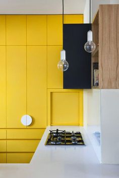 VM designblogg: H Kίτρινη Κουζίνα