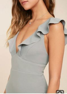 Weddings, parties, and galas are all good excuses to debut the Perfect Opportunity Grey Maxi Dress! A stretch knit maxi with a mermaid hem. Dress Outfits, Casual Outfits, Fashion Dresses, Dress Up, Cute Outfits, Bodycon Dress, Grey Maxi, Evening Dresses, Summer Dresses